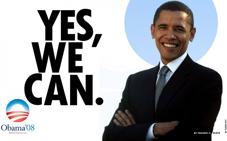 obamas yes we can speech Transcript of barack obama's victory speech in these prepared remarks, president-elect barack obama calls himself the unlikeliest yes, we can at a.