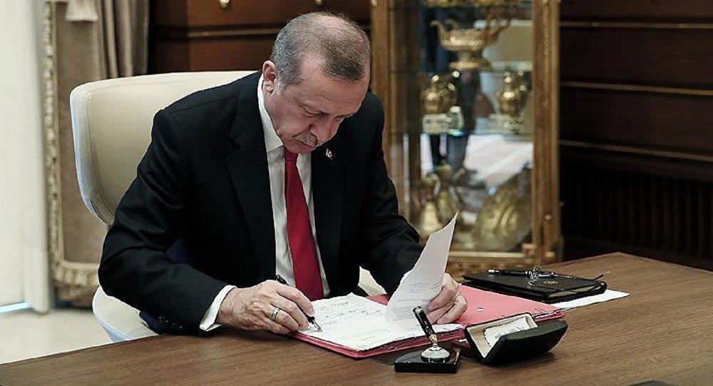 Erdoğan çok sayıda ismi görevden aldı, yeni atamalar yaptı | soL Haber Portalı