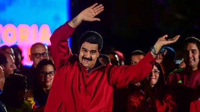 Venezuela'da emperyalizme karşı büyük zafer