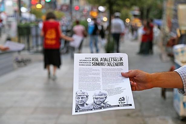 TKP'den 'Asıl adaletsizlik sömürü düzenidir' çalışması