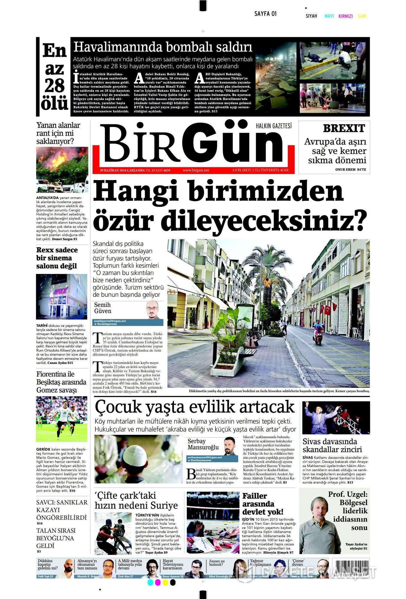 İşte Atatürk Havalimanı saldırısıyla ilgili tüm haberler 12