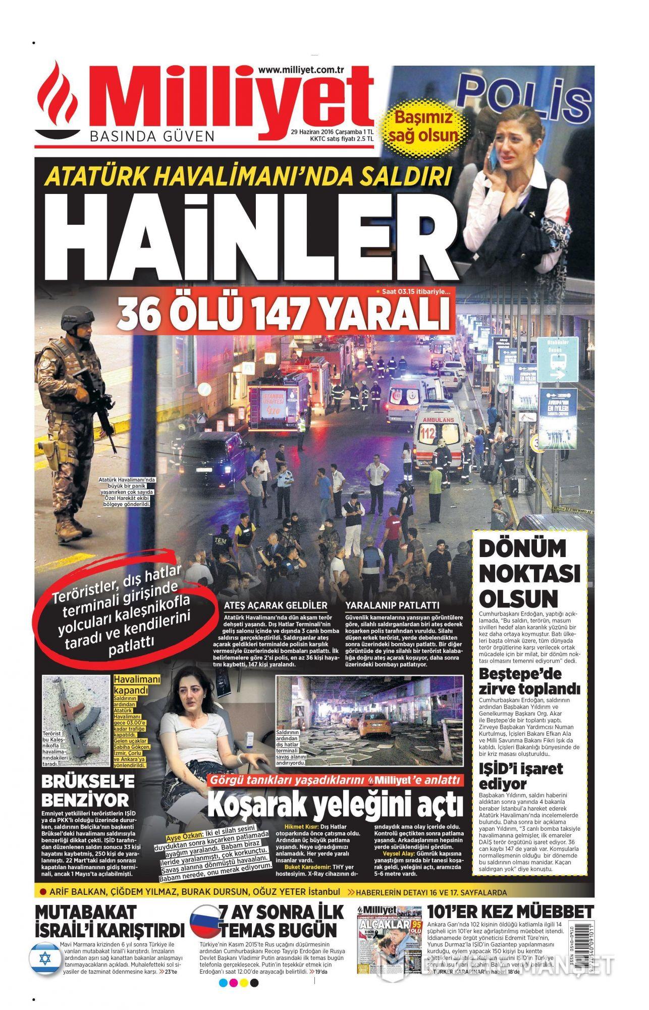 İşte Atatürk Havalimanı saldırısıyla ilgili tüm haberler 42