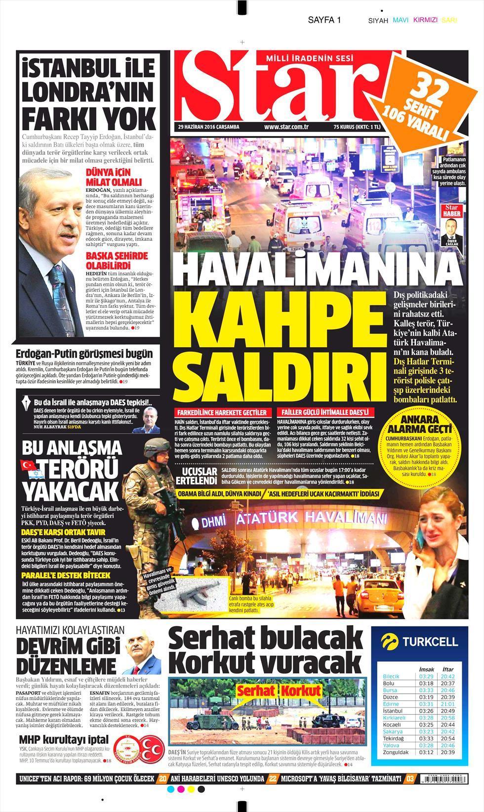 İşte Atatürk Havalimanı saldırısıyla ilgili tüm haberler 89