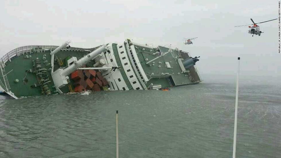 Bir tarikat Güney Kore'yi nasıl ele geçirdi: Sermaye ve gericilik her yerde kol kola! 140416122758 south korea ship 9 horizontal large gallery