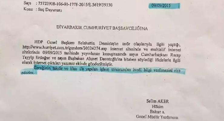 Demirtaş, SEGBİS üzerinden duruşmaya katılmayı reddetti