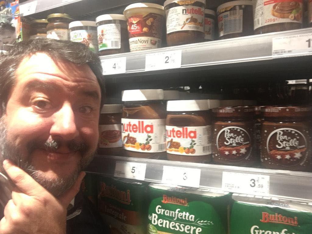 Salvini, fındık Türkiye'den geldiği için Nutella yemeyecekmiş
