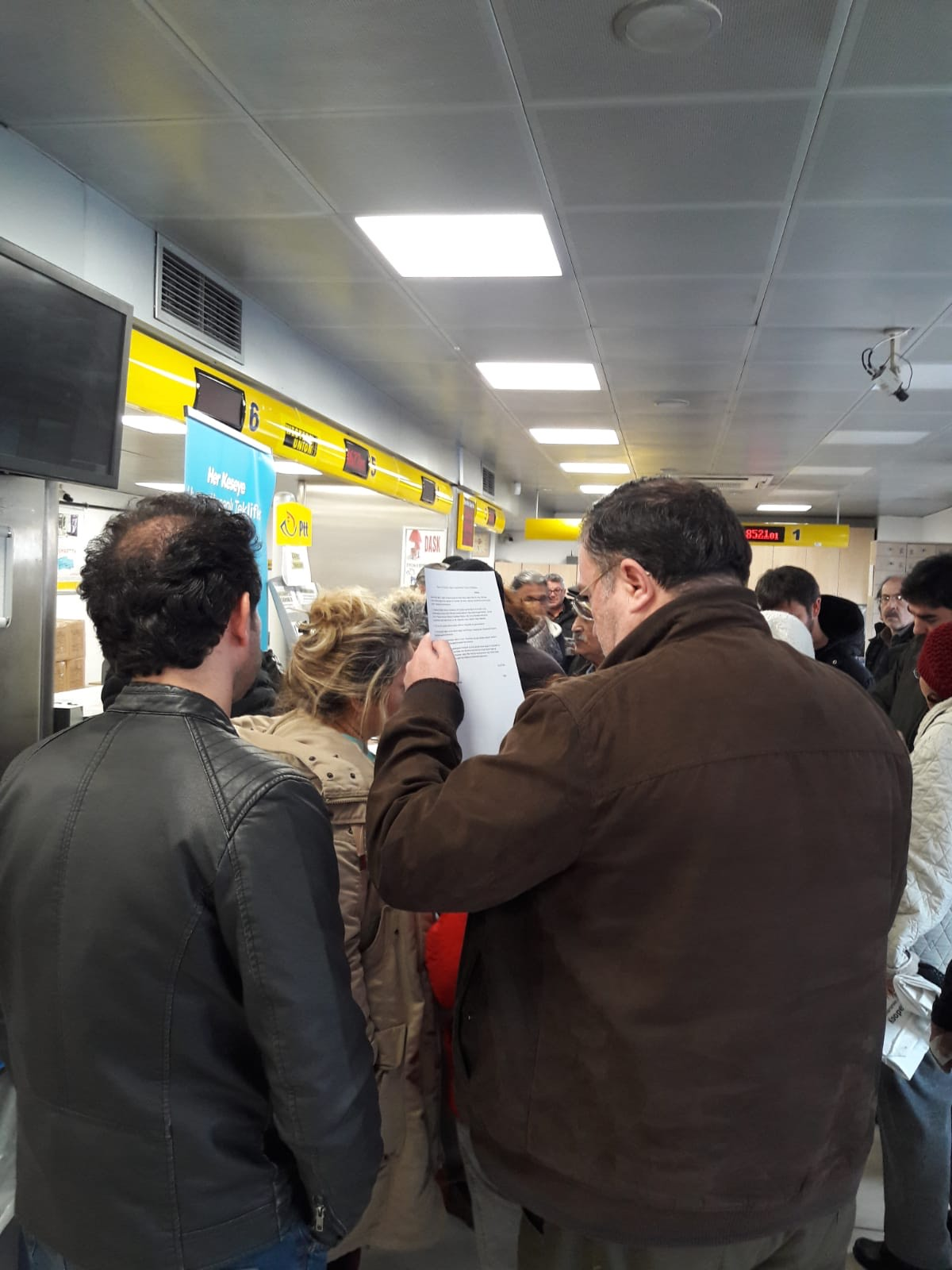 Dikmen, Eryaman ve Keçiören'de halk doğalgaz faturalarına itiraz etti