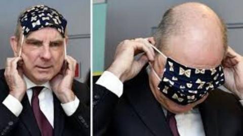 Belçika Adalet Bakanı'nın maskeyle imtihanı | soL haber