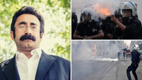 """Adalet Bakanlığı, Gezi direnişi sırasında polis müdahalesi sonucu gözünü kaybeden Erdal Sarıkaya'nın Anayasa Mahkemesi'ne yaptığı başvuru nedeniyle gönderdiği görüş yazısında, polis müdahalesini """"orantılı"""" buldu."""