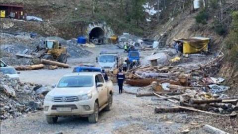 Çanakkale'de maden ocağında göçük: 1 işçi göçük altında
