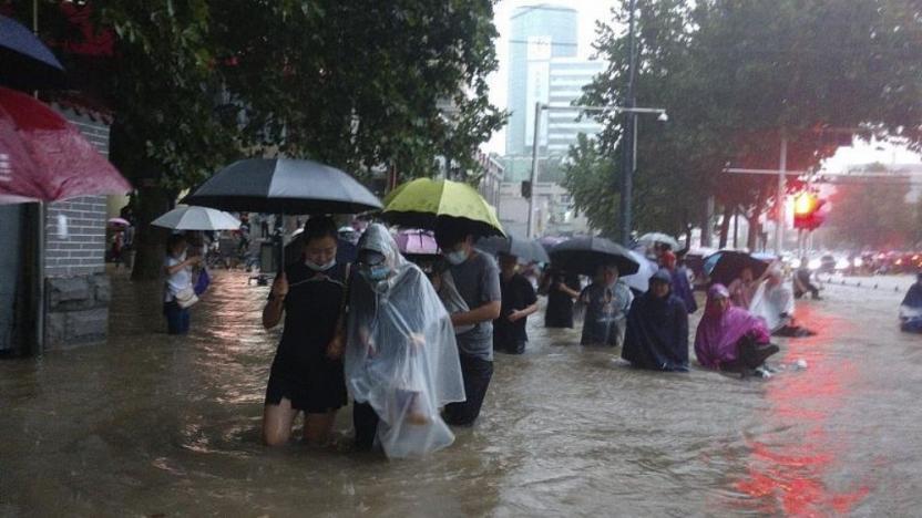 Çin'de sel sonucu en az 25 kişi yaşamını yitirdi | soL haber