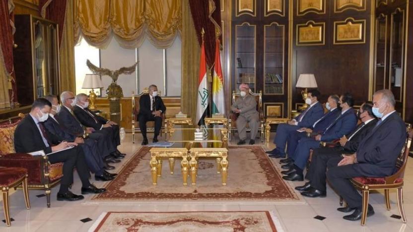 CHP heyeti Erbil'de Barzani ile görüştü | soL haber