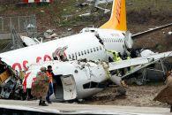 Sabiha Gökçen Havalimanı'nda kaza yapan uçağın pilotu tutuklandı