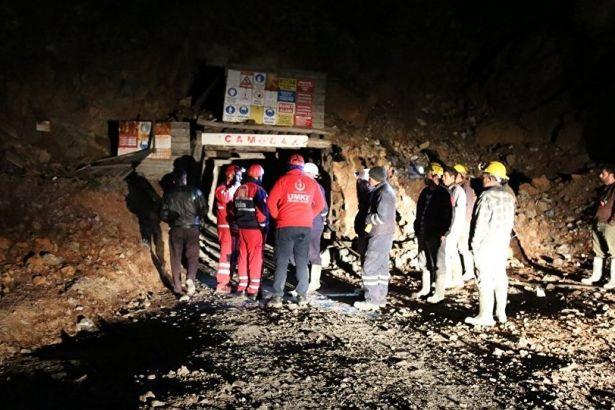 Amasya Haberleri: Amasyada maden ocağında göçük: 4 işçi kurtarıldı 77