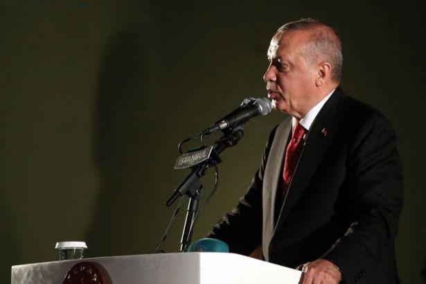Erdoğan'dan Macron'a yanıt: Biz tehdit mehdit dinlemeyiz
