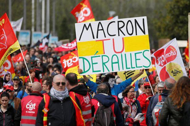 Fransada son 30 yılın en uzun grevine neden olan tasarıya onay 96