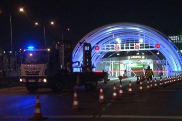 Erdoğan miting düzenleyecek diye Avrasya Tüneli kapatıldı