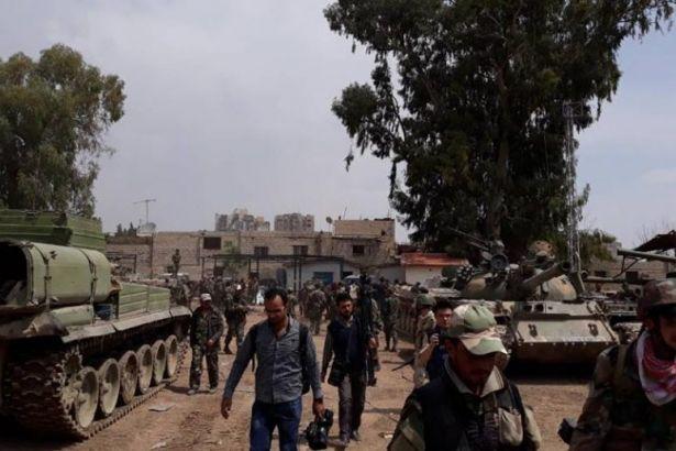 Suriye'de büyük zafer: Şam IŞİD'den temizlendi