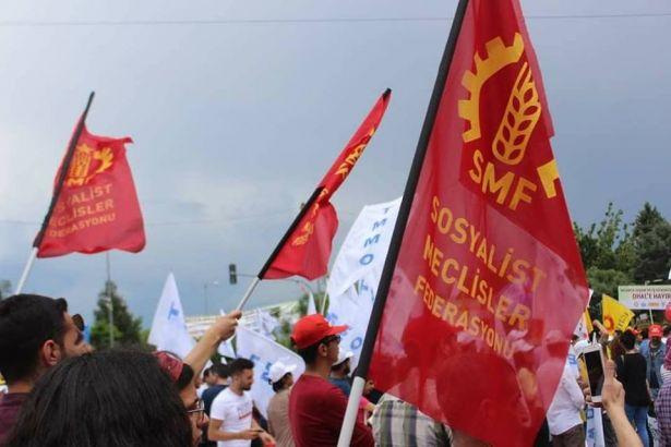 Sosyalist Meclisler Federasyonu'na polis saldırısı