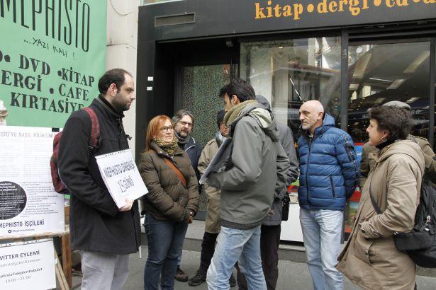 TKP İstanbul Belediye Başkan Adayları'ndan Mephisto işçilerine ziyaret