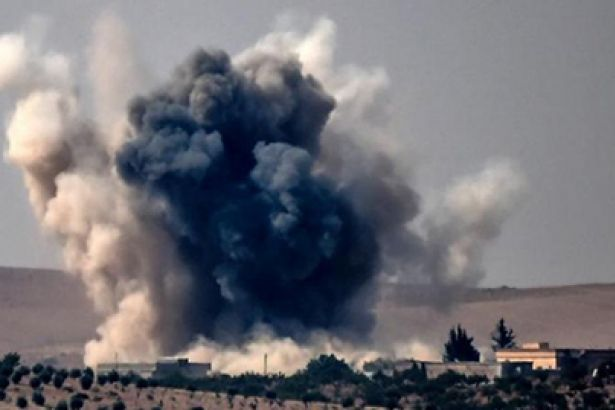 ABD Suriye'yi vurdu: 28'i sivil 54 kişi hayatını katbetti