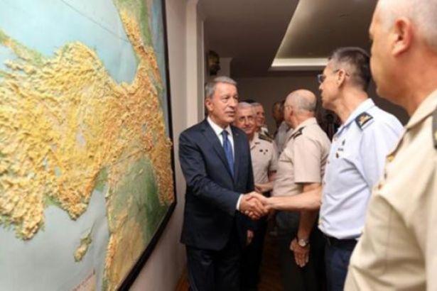 Milli Savunma Bakanı Akar: ABD ile ortak harekat merkezi çalışmaya başladı