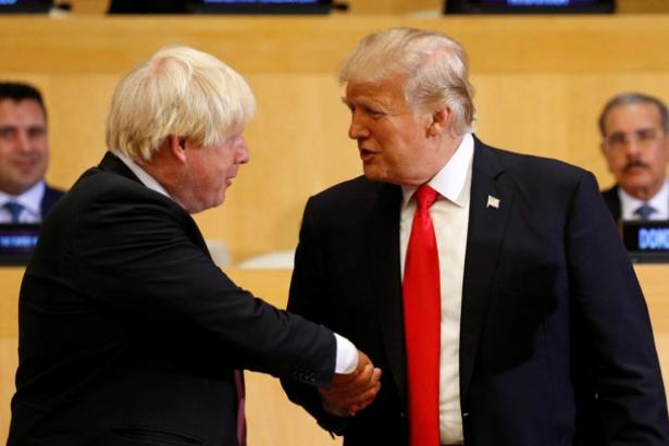 Trump: Johnson Brexit'i başarıyla gerçekleştirecektir