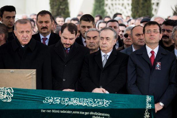 İmamoğlu ile Erdoğan, Nuh Çimento patronunun cenazesinde buluştu