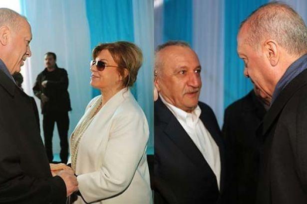 Tansu Çiller ve Mehmet Ağar AKP-MHP mitingine katıldı