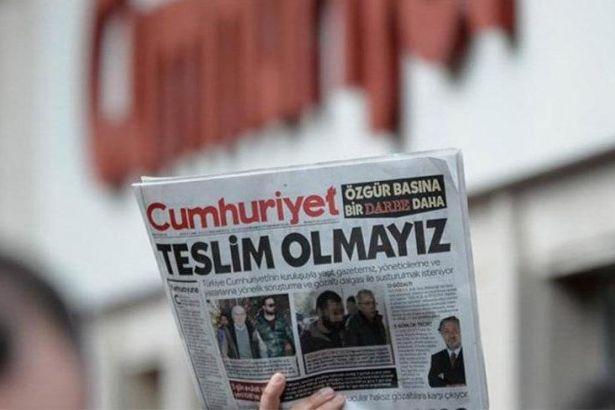 Cumhuriyet gazetesi çalışanları cezaevine girecek!