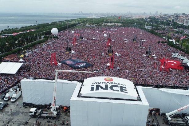 Son yalanlar: İnce'nin mitingine Soylu'ya göre 280 bin kişi katıldı, Erdoğan '500 kişi yok' dedi