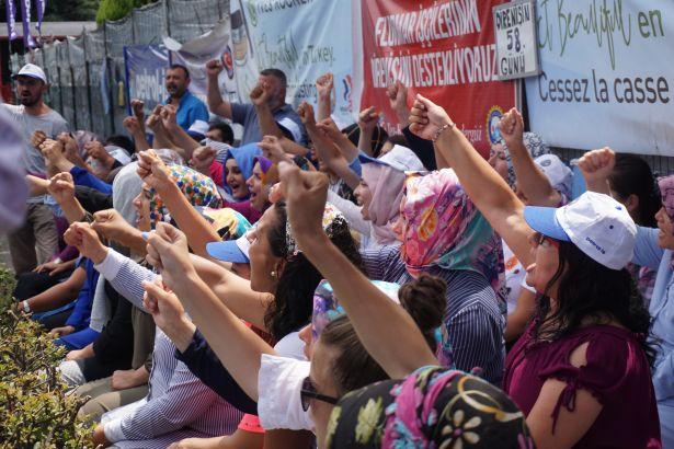 Flormar direnişinin filmi işçilerle buluştu: Güzellik Direnişte