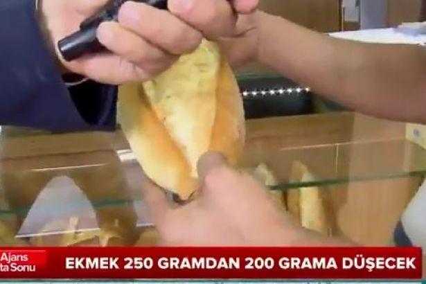 Yandaş kanal utanmadı: Ekmeğin gramajının düşmesi halkı memnun etmiş!
