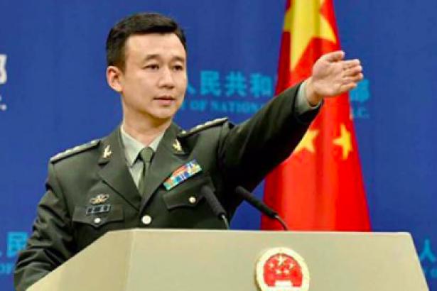 Çin Savunma Bakanlığı Sözcüsü resimleri ile ilgili görsel sonucu