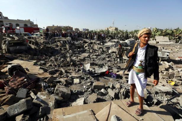 Yemen'de katliam yapan Suudiler, İran'ı Husilere destek vermekle suçladı