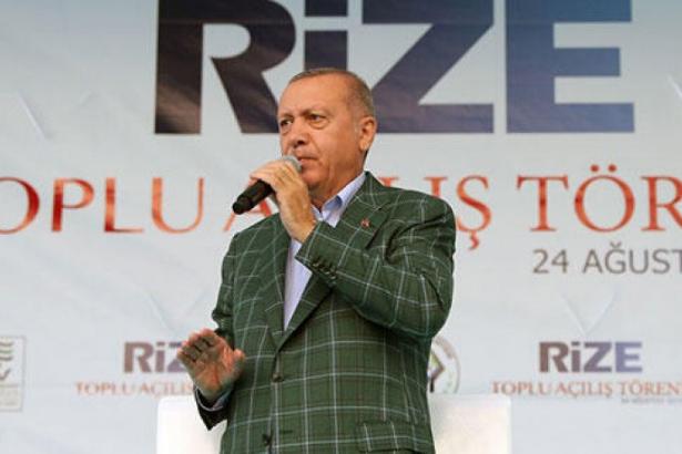 Erdoğan, İmamoğlu'nu hedef aldı: Beyefendi tatilde