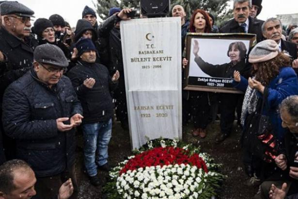 Rahşan Ecevit'in devlet mezarlığına defni için yasa teklifi Meclis'te