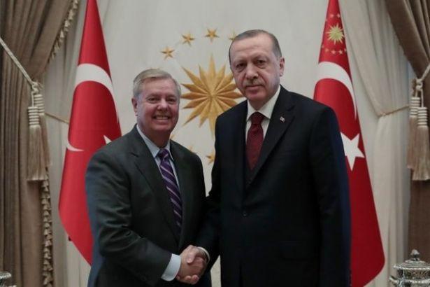 Beştepe'de ABD'li senatörle Suriye pazarlığı