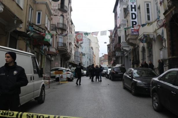 HDP il binası önünde ateş açan saldırgan tutuklandı