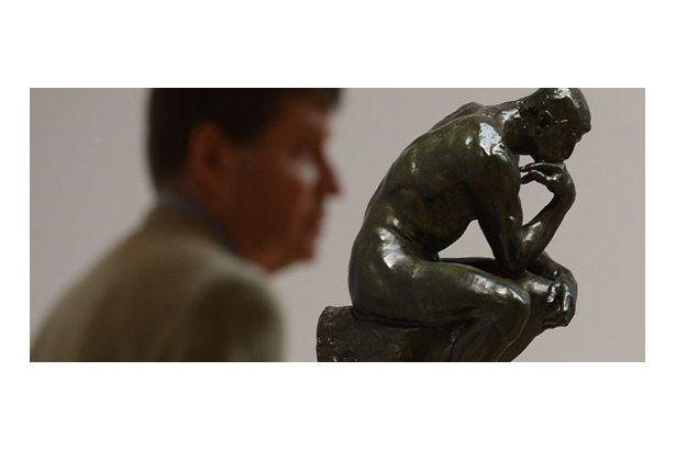rodin in düşünen adam heykeli nerede