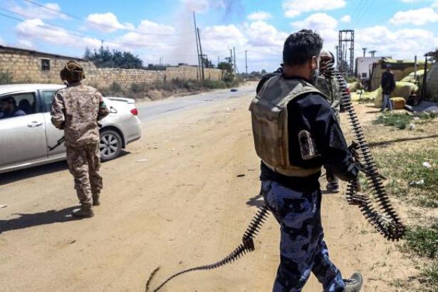SOHR: Türkiye destekli 2 bin 400 Suriyeli savaşçı Libya'da