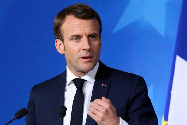 Macron, Suriye Demokratik Güçleri heyetiyle bir araya geldi