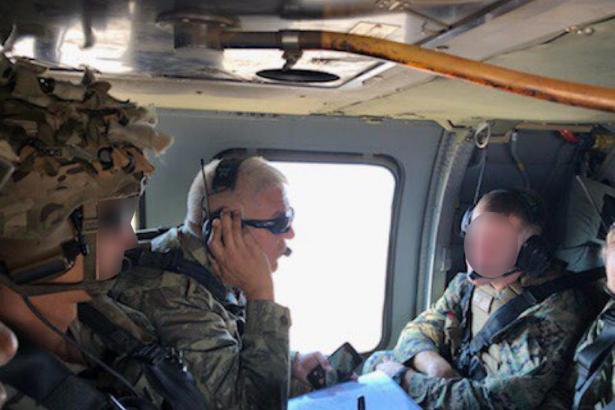 MSB: ABD ile ilk ortak helikopter uçuşu gerçekleştirildi