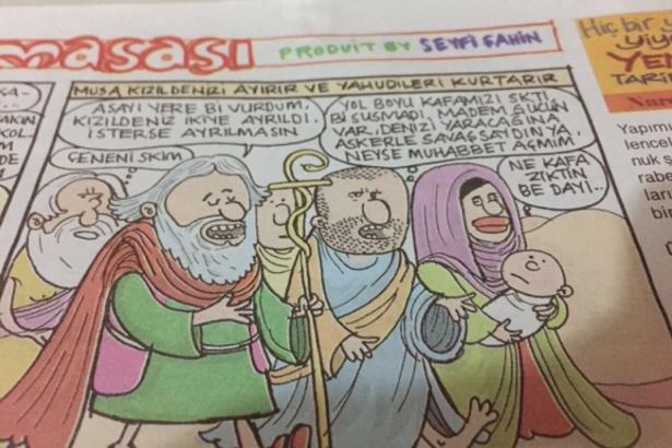 Karikatürist Seyfi Şahin'e 'dini değerleri aşağıladığı' iddiasıyla 1 yıl 15 gün hapis