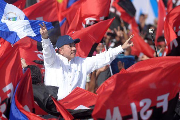 Nikaragua'da devrimin yıldönümünde Ortega'dan barış çağrısı