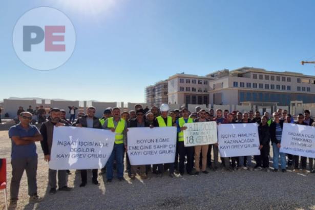 Kayı işçilerinin grevi 18. gününde