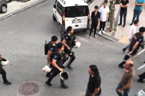 SARIGAZİ GRUP YORUM POLİS SALDIRISI