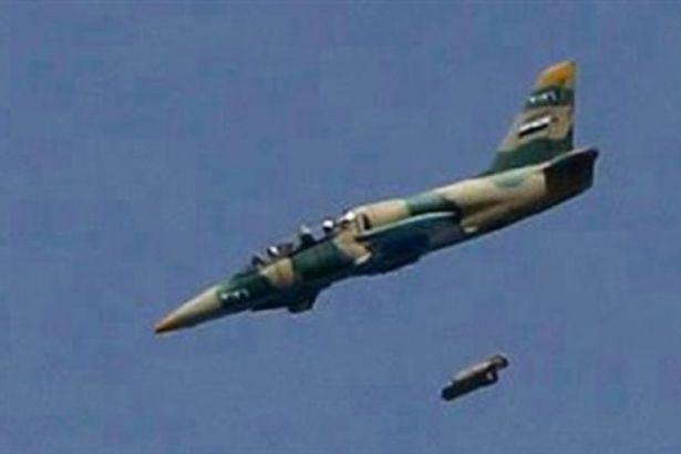Suriye Hava Kuvvetleri'nden Hizbullah'a destek