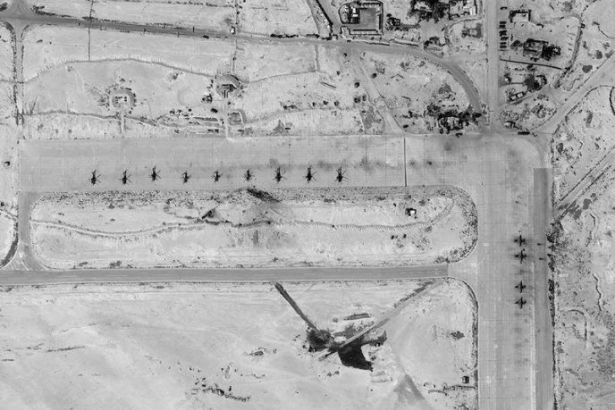 Suriye T-4 Hava Üssü'ndeki Rus savaş uçaklarının sayısında artış