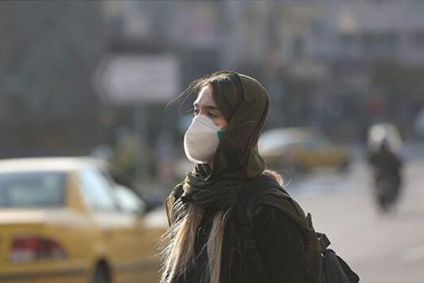 İran'da hava kirliliği nedeniyle bugün okullar tatil edildi